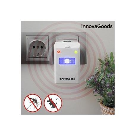 Ahuyentador de Insectos y Roedores con LED envio gratis