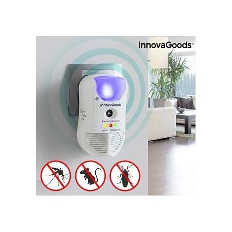 Ahuyentador de Plagas con LED y Sensor 5 en 1 envio gratis
